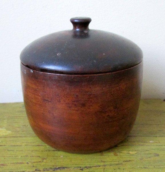 Late 18th C Lidded Sugar Bowl