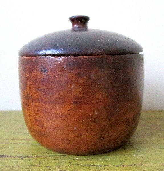 Late 18th C Lidded Sugar Bowl - 3