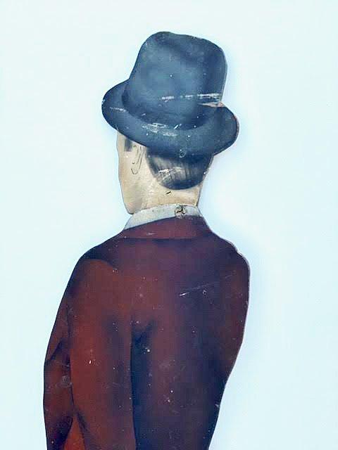 Gentleman Figural Trade Sign, c 1900 - 2