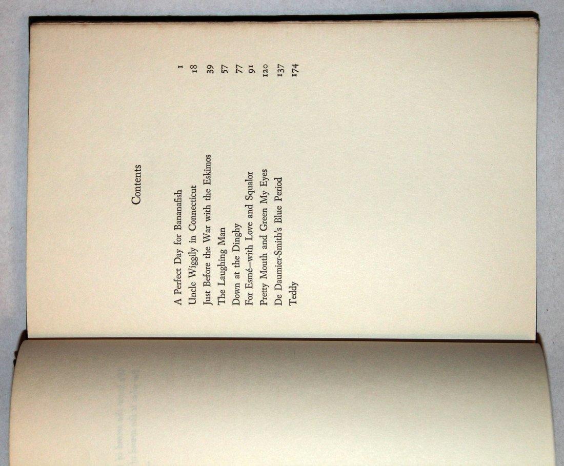 J. D. Salinger: Nine Stories, 1st Edition, 1953 - 10