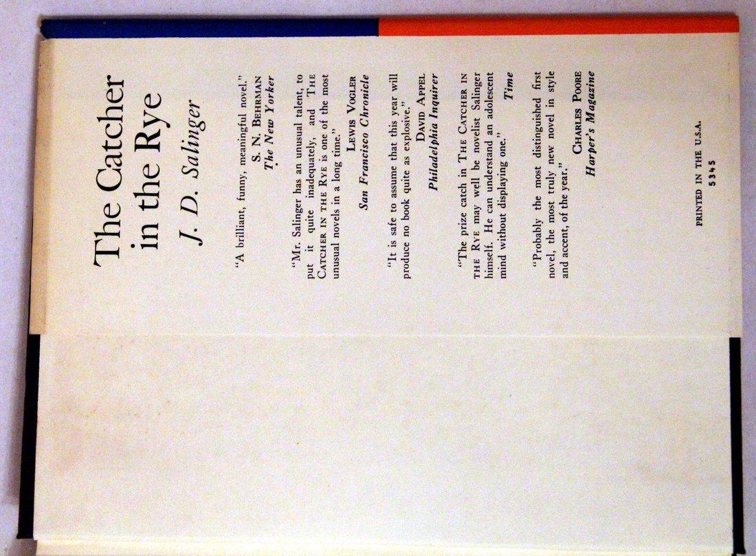J. D. Salinger: Nine Stories, 1st Edition, 1953 - 4