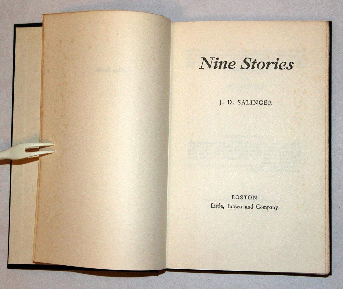 J. D. Salinger: Nine Stories, 1st Edition, 1953 - 8