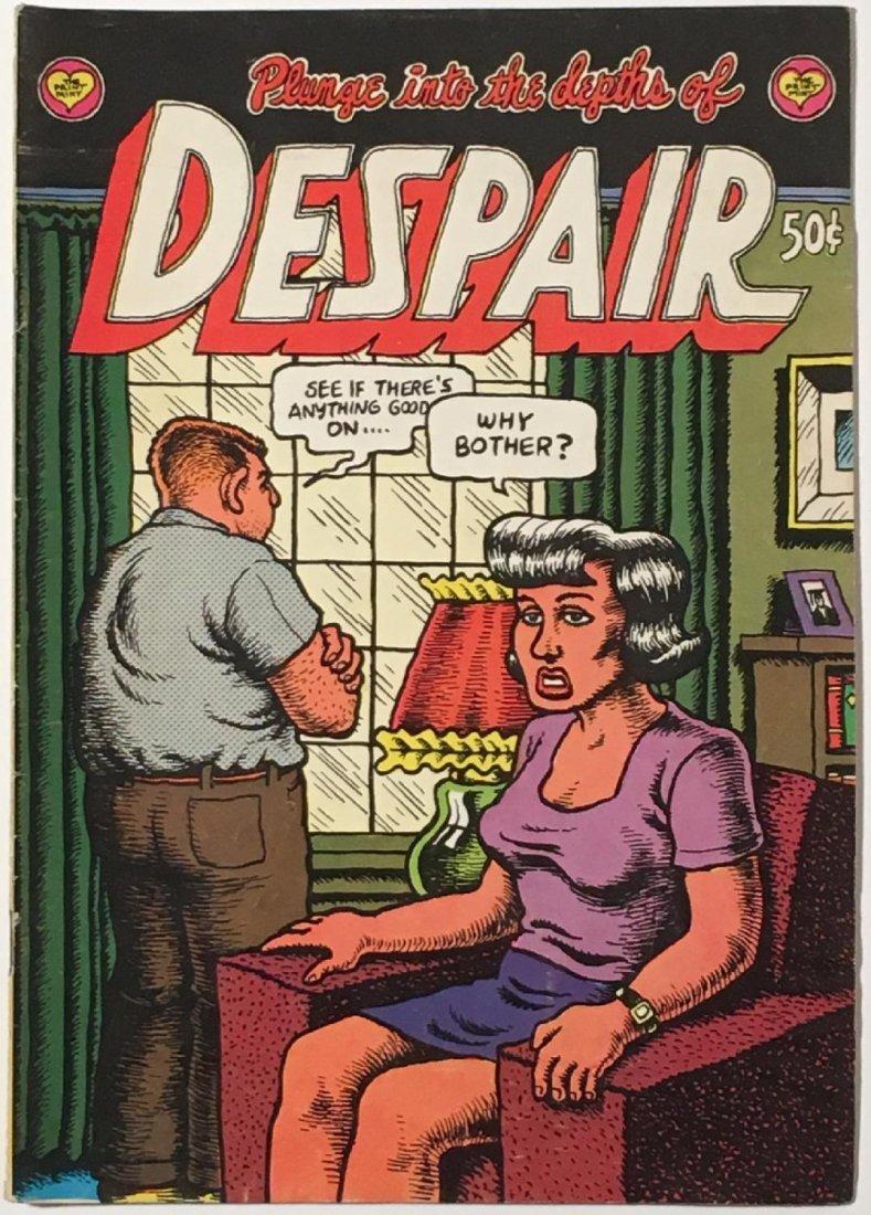 Robert Crumb: Plunge into the Depths of Despair Comic