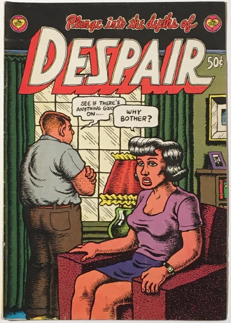 Robert Crumb: Plunge into the Depths of Despair Comic