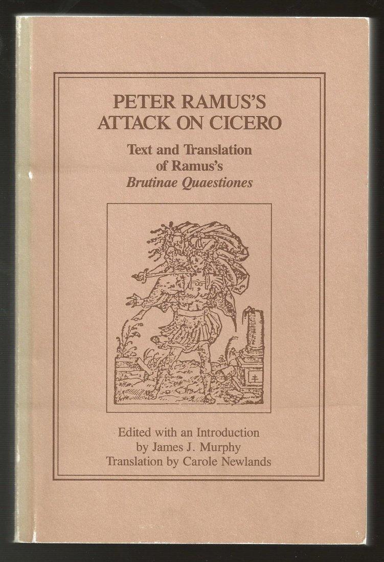 Peter Ramus's Attack on Cicero, Brutinae Quaestiones