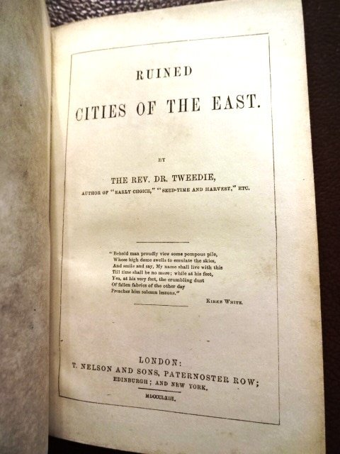 Ruined Cities of East Syria & Cities of Bashan, 1865 - 3