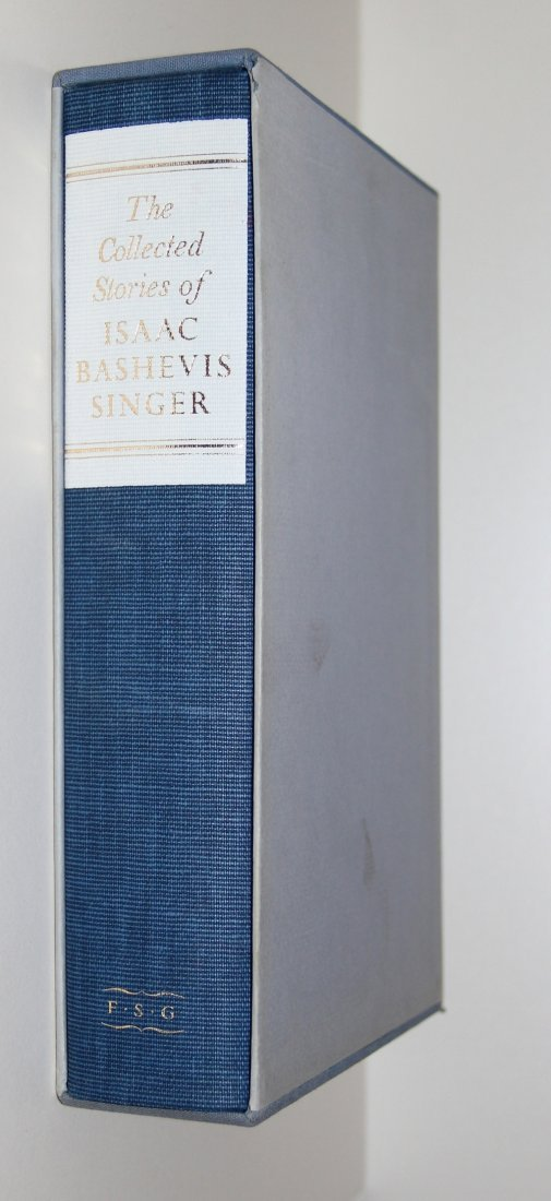 Isaac Bashevis Singer Collected Stories, 1st Ed, Signed