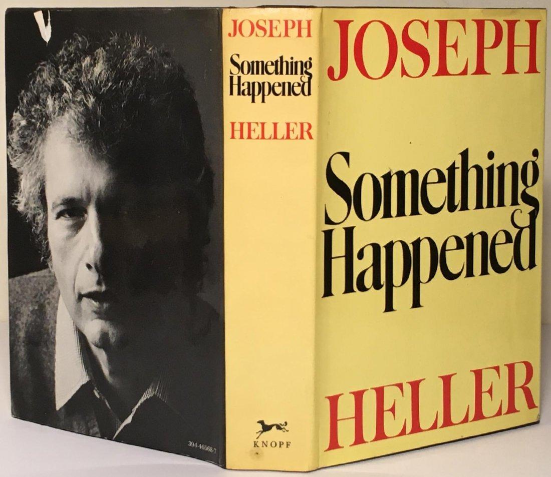 Joseph Heller: Something Happened, 1st Ed, Signed