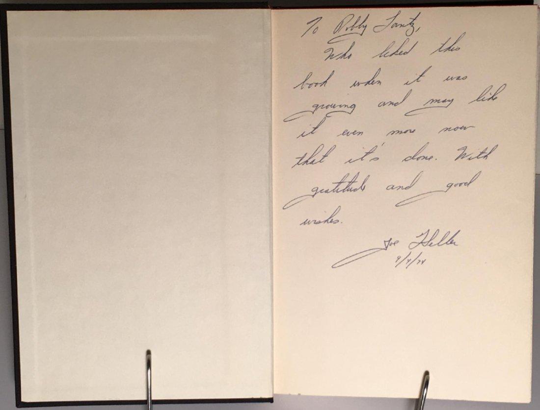 Joseph Heller: Something Happened, 1st Ed, Signed - 3