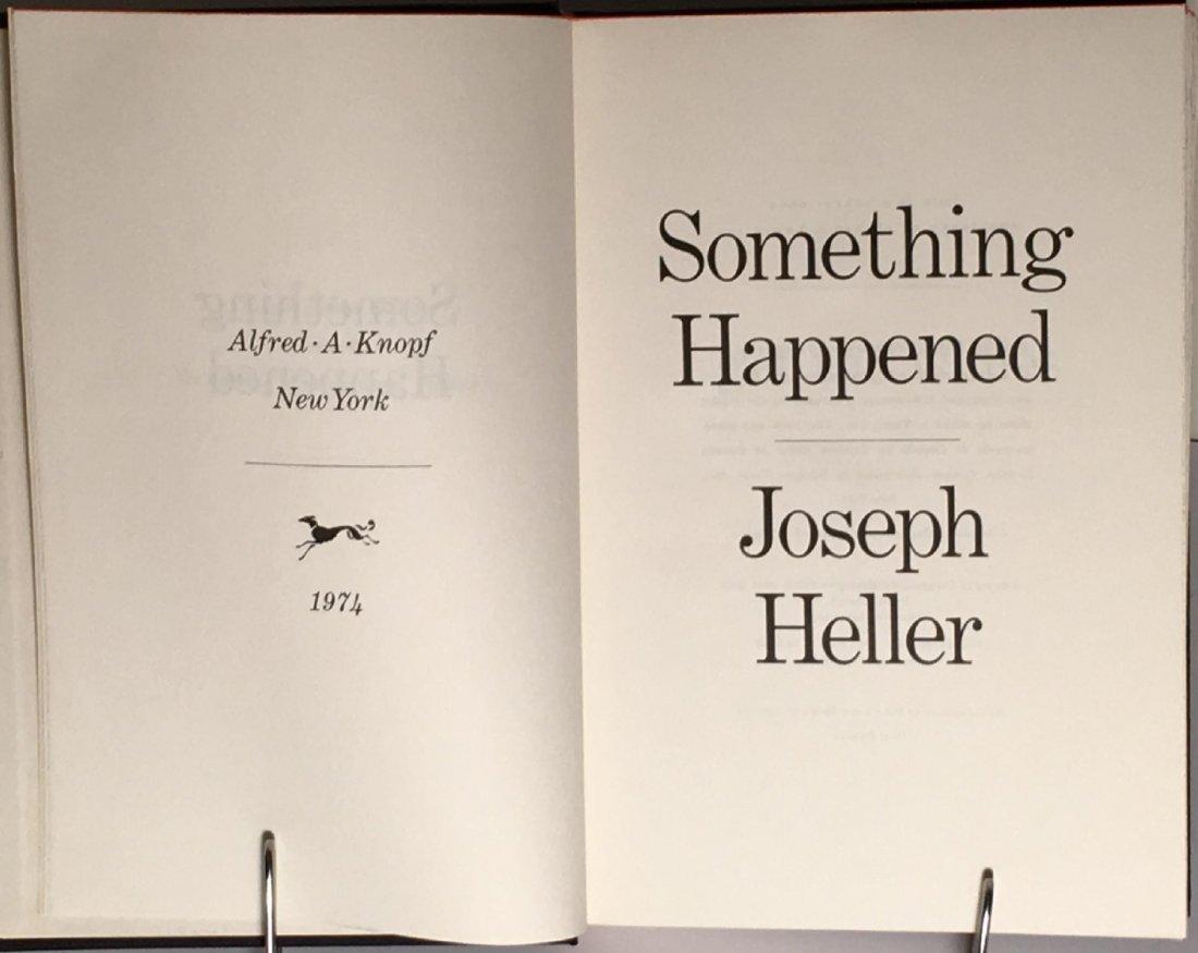 Joseph Heller: Something Happened, 1st Ed, Signed - 4