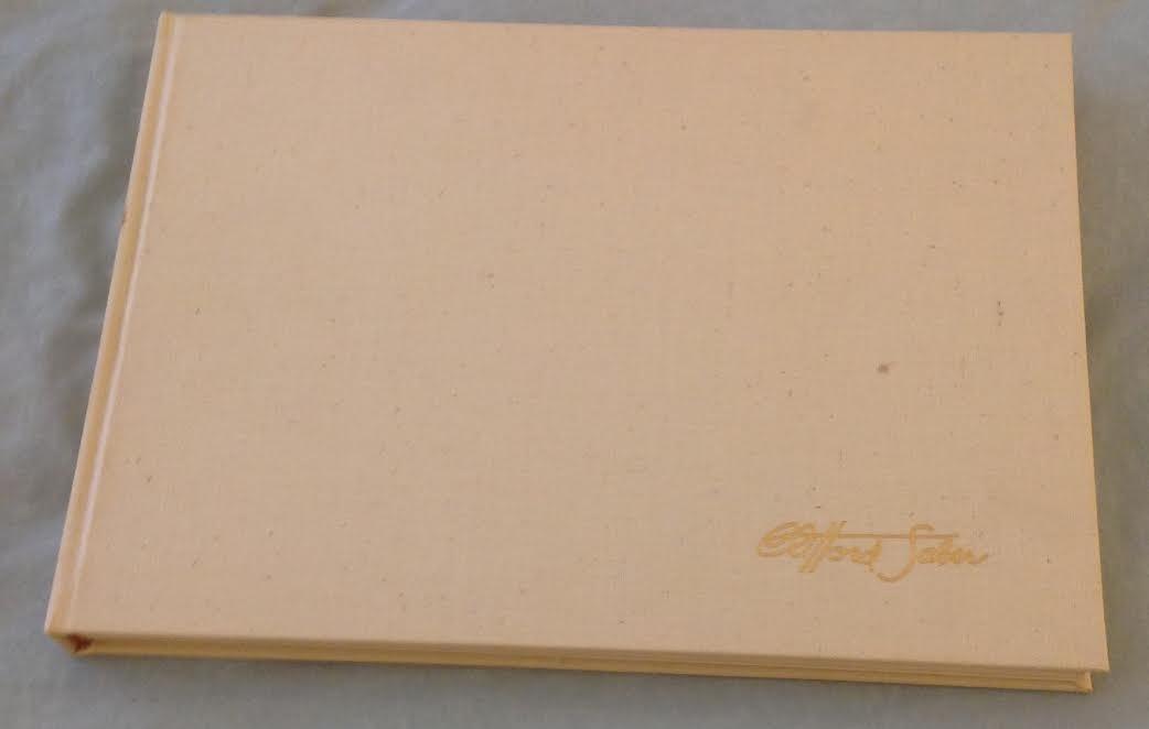 Clifford Saber: Desert Rat Sketch Book, 1st Ed, 1959 - 2