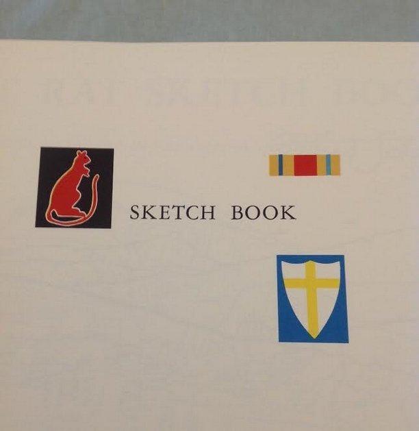 Clifford Saber: Desert Rat Sketch Book, 1st Ed, 1959 - 4