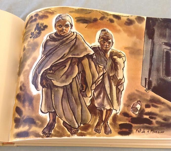 Clifford Saber: Desert Rat Sketch Book, 1st Ed, 1959 - 7