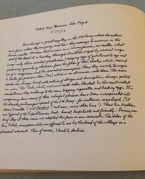 Clifford Saber: Desert Rat Sketch Book, 1st Ed, 1959 - 8
