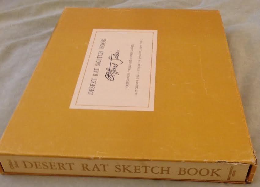 Clifford Saber: Desert Rat Sketch Book, 1st Ed, 1959 - 9