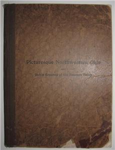 Antique Book of Northwest Ohio, 1901