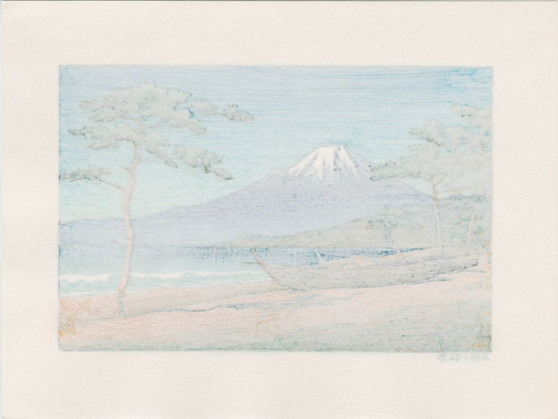 Hasui Kawase: The Pine Beach at Miho no Matsubara - 2
