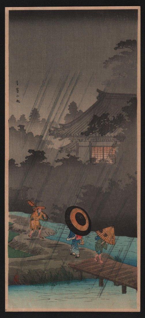 Hiroaki Takahashi: Shower at Terashima, 1936