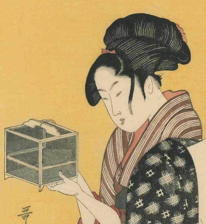 Kitagawa Utamaro: Women Sewing - 6