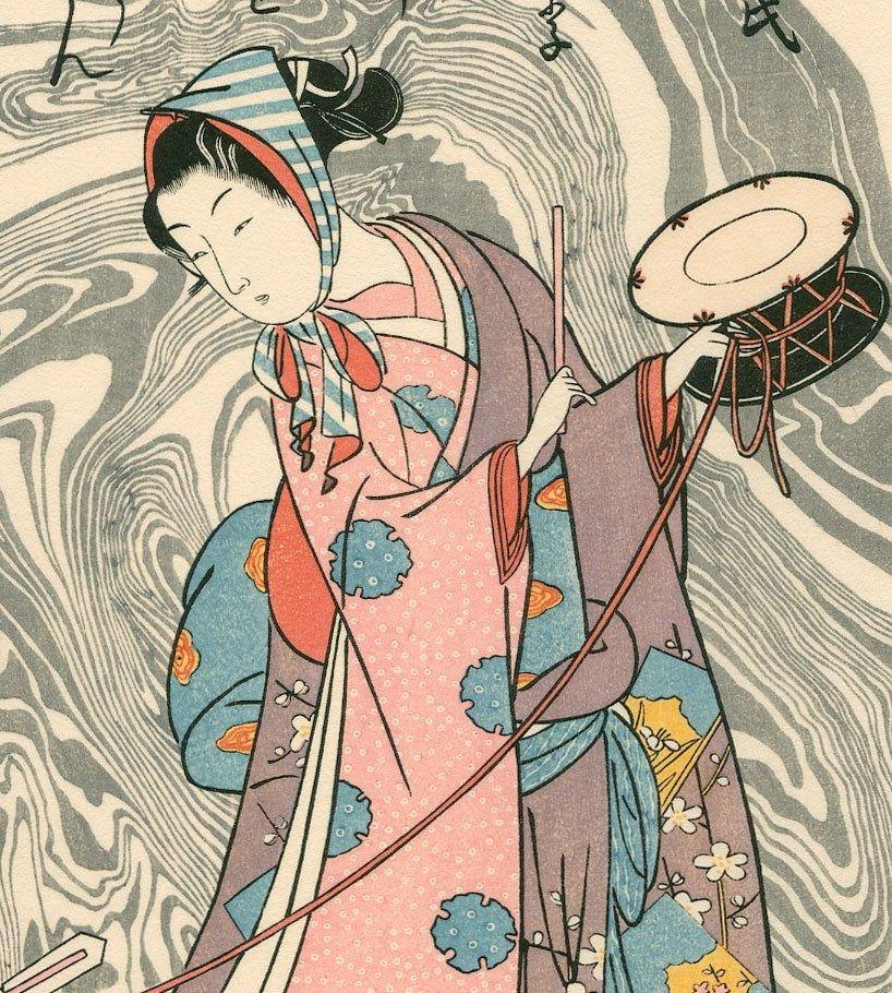 Suzuki Harunobu: The Performing Monkey - 2