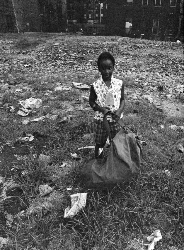 Bruce Davidson: Harlem, Girl in Empty Lot