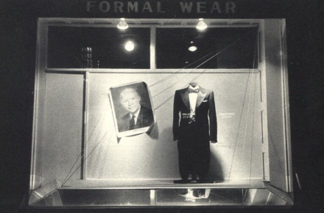 Robert Frank: Store Window, Washington D.C.