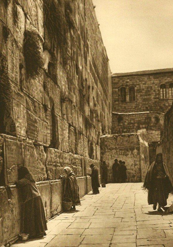 Karl Grober: Women at the Wailing Wall