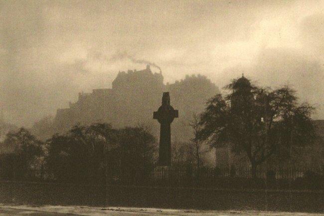E.O. Hoppe: The Castle - Edinburgh, Scotland
