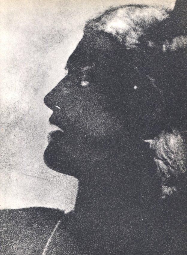 Man Ray: Portrait (Solarization)