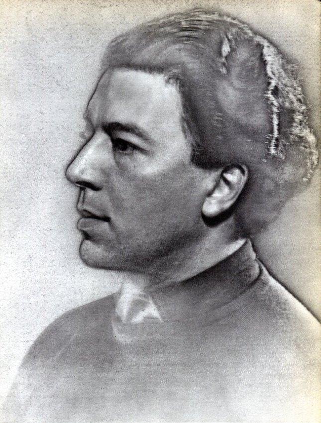 Man Ray: Portrait - Andre Breton