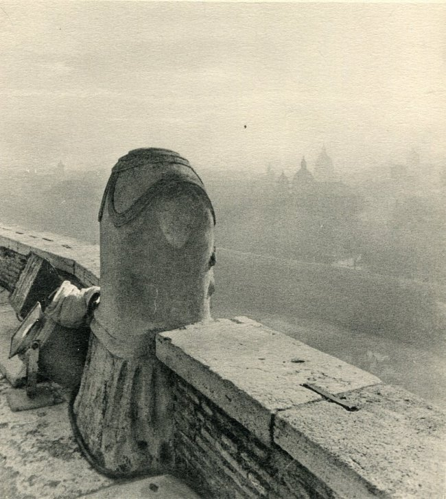 Unknown: Rome, From the Top of the Castle