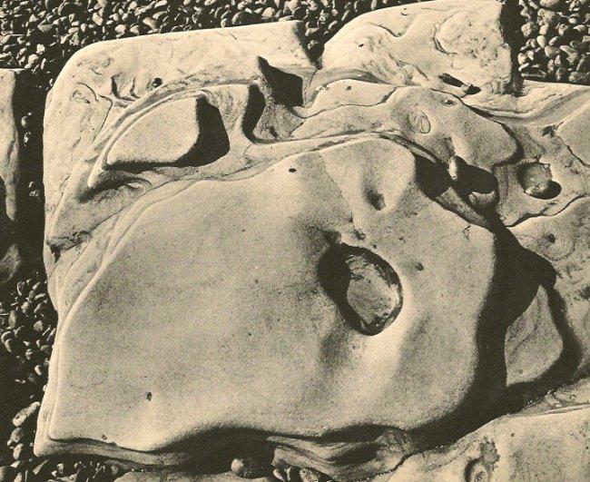 Edward Weston: Rock Erosion
