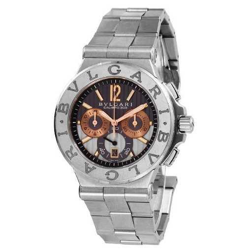 1ee62fc0297 Bvlgari Calibro 303 Diagono Chronograph 18K Men s Watch