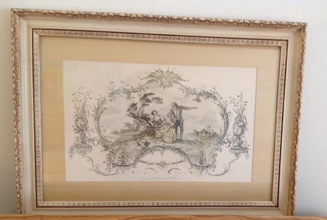 Jean Antoine Watteau: The Happy Meeting