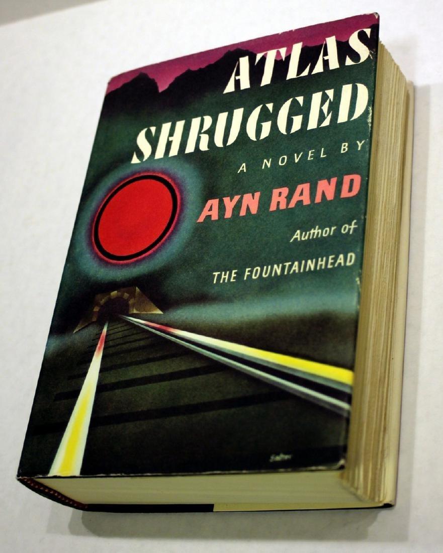 Ayn Rand Atlas Shrugged Rare 8c9 Edition 1957
