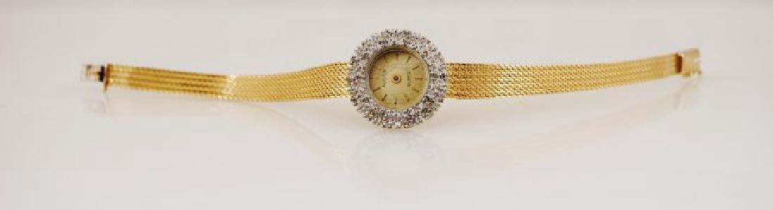 1960's Austin 14K Diamond Watch - 2