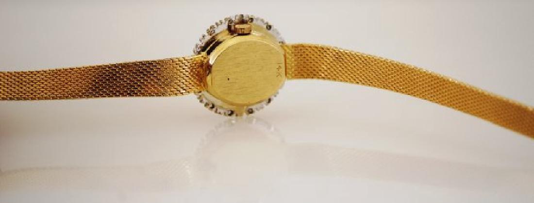 1960's Austin 14K Diamond Watch - 3