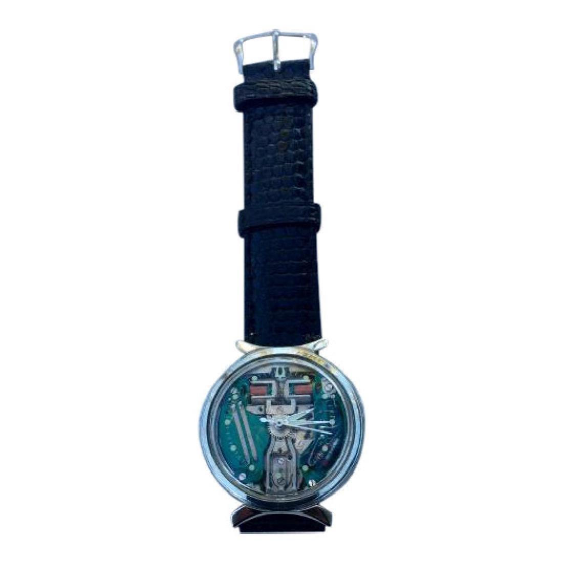 Vintage Bulova Accutron Spaceview Bowtie Watch, 1967