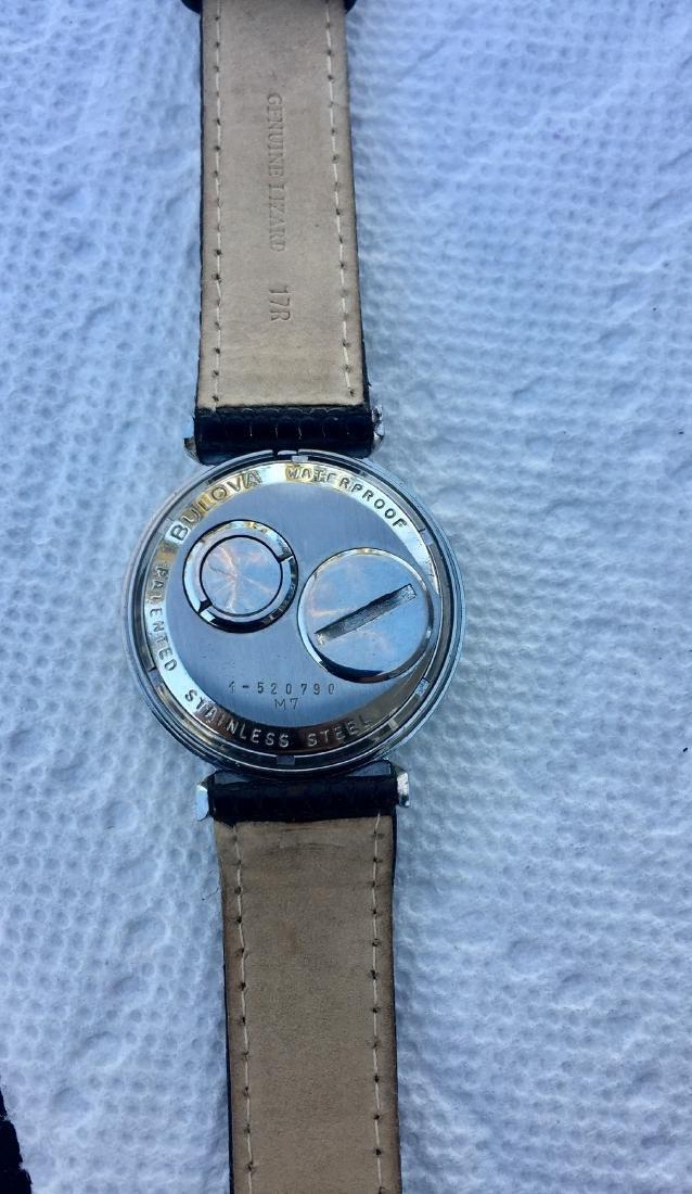 Vintage Bulova Accutron Spaceview Bowtie Watch, 1967 - 2