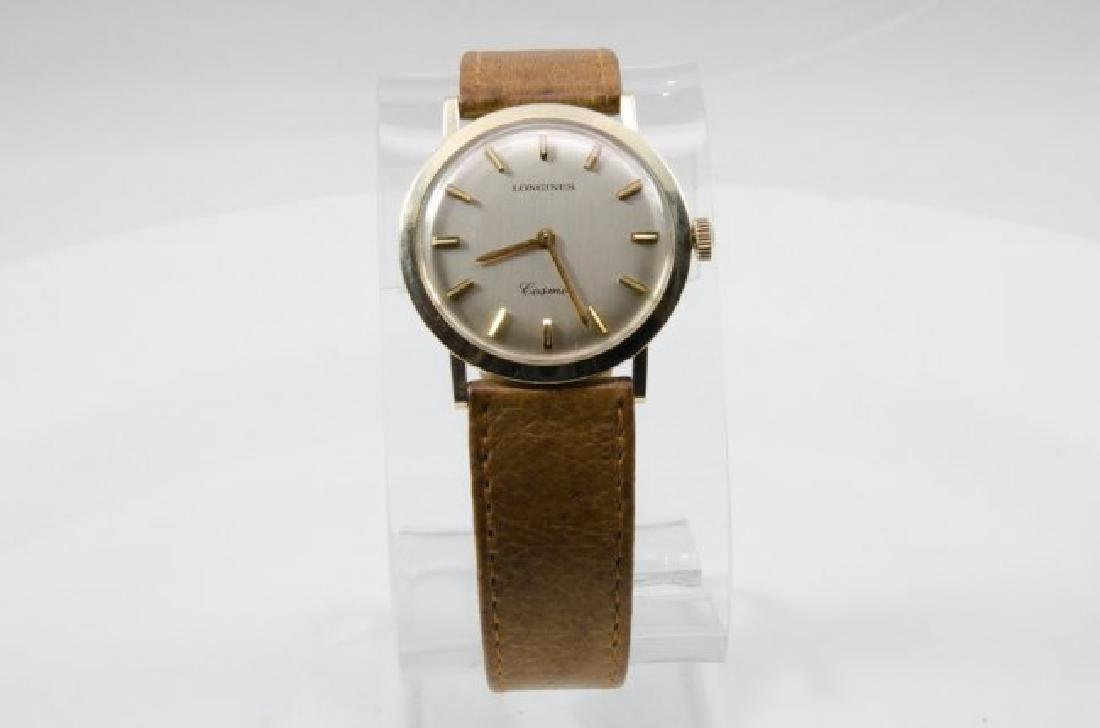 Longines 14K Gold GL Cosmo Watch