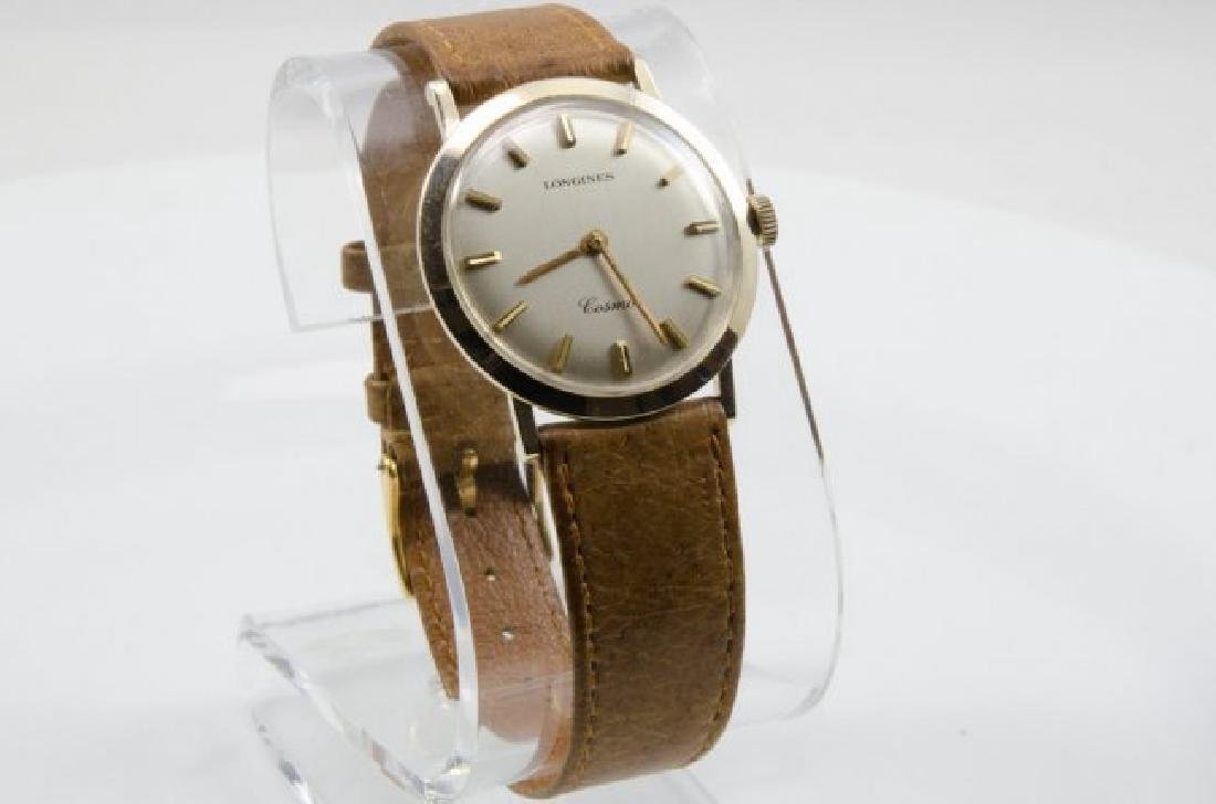 Longines 14K Gold GL Cosmo Watch - 2