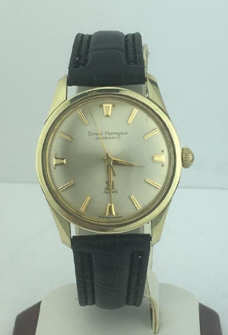 Girard Perregaux Gyromatic Gold Stainless Steel Watch