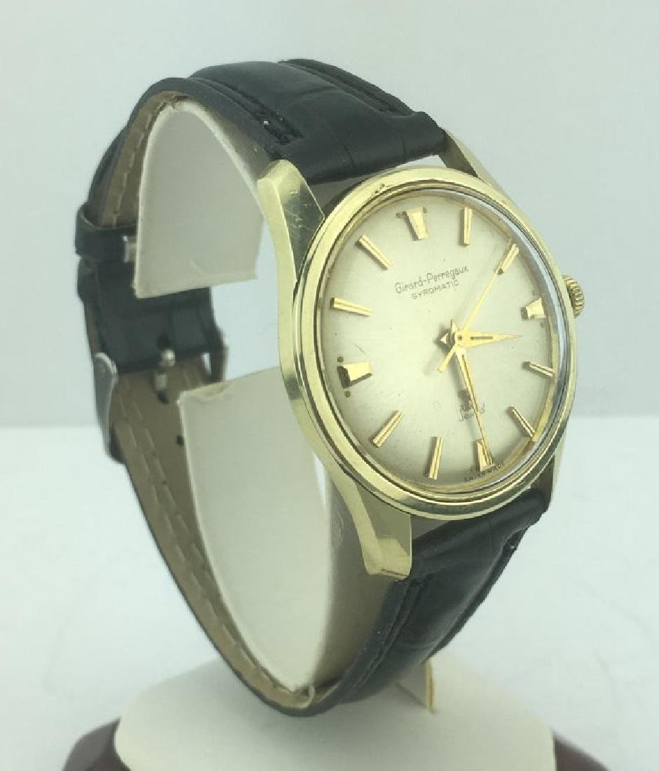 Girard Perregaux Gyromatic Gold Stainless Steel Watch - 2