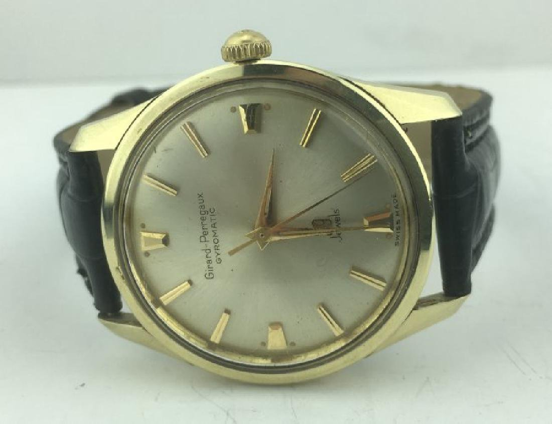 Girard Perregaux Gyromatic Gold Stainless Steel Watch - 4