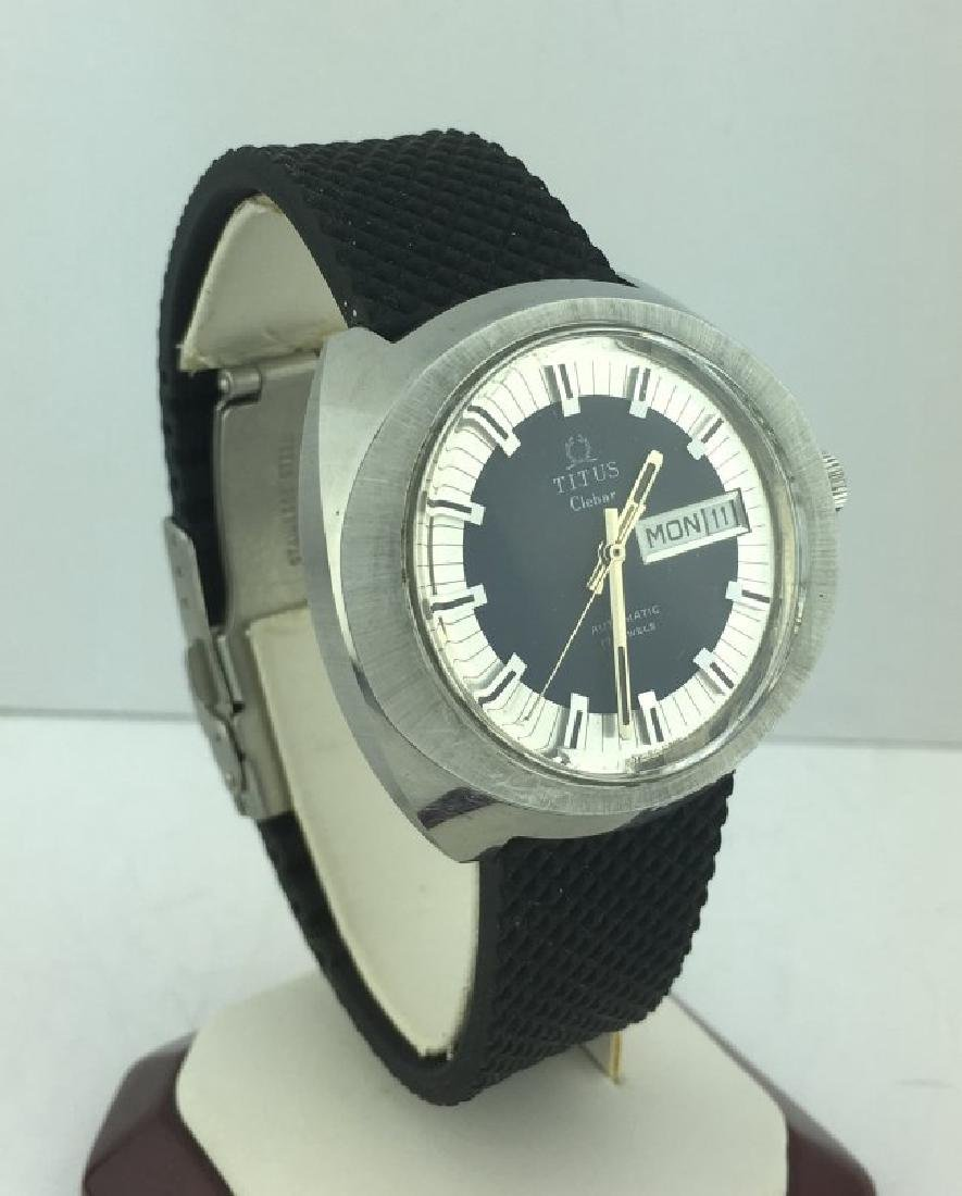 Titus Clebar Automatic Blue Dial Men's Watch - 2
