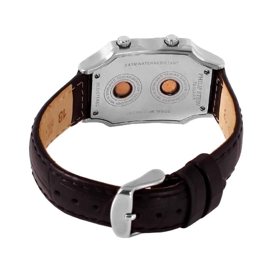 Philip Stein Teslar Stainless Steel Diamond Watch - 2