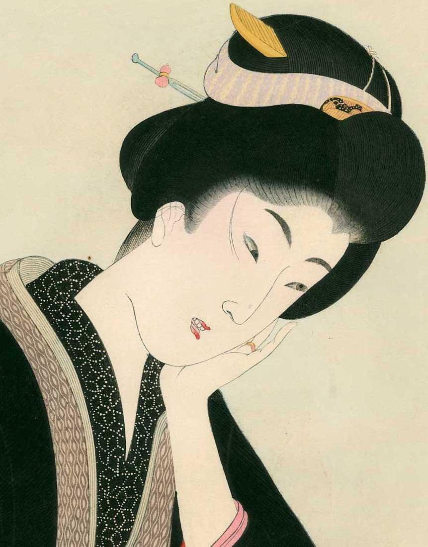 Chikanobu Toyohara: Reading the Newspaper - 2