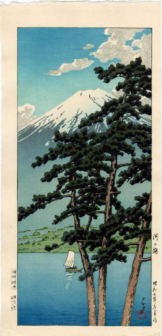 Hasui Kawase: Lake Kawaguchi