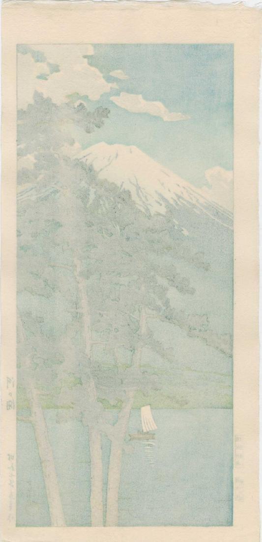Hasui Kawase: Lake Kawaguchi - 2
