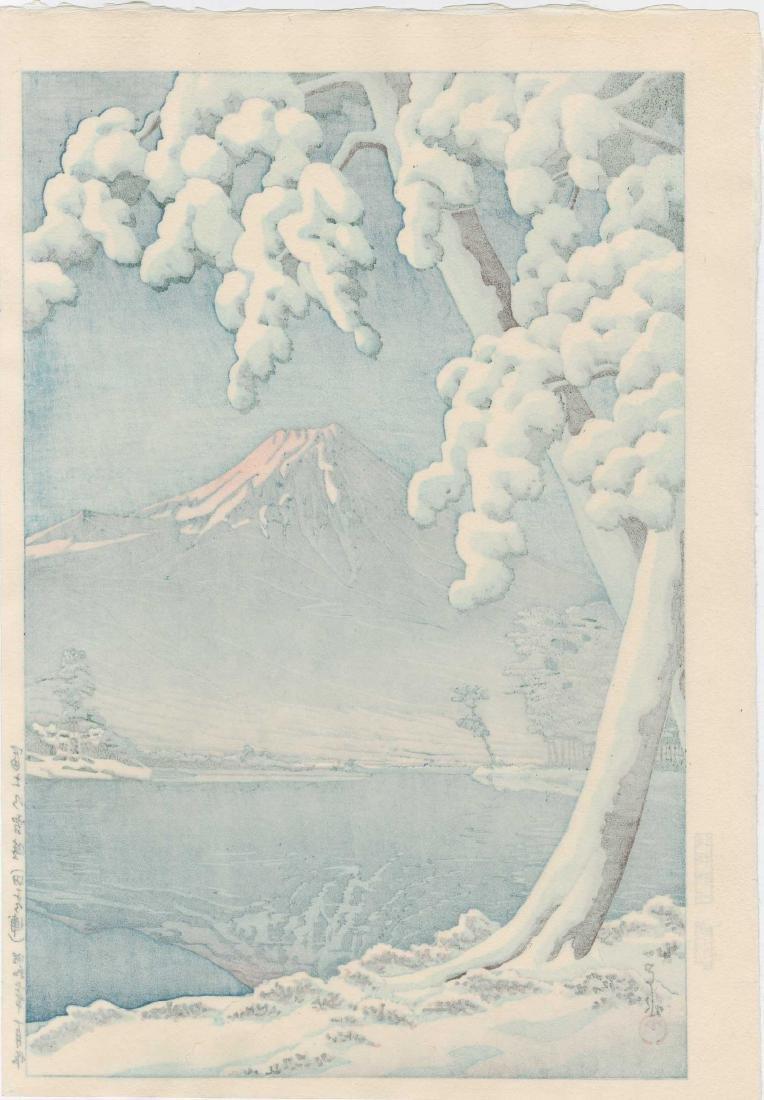 Hasui Kawase: Mt. Fuji After Snow - 2
